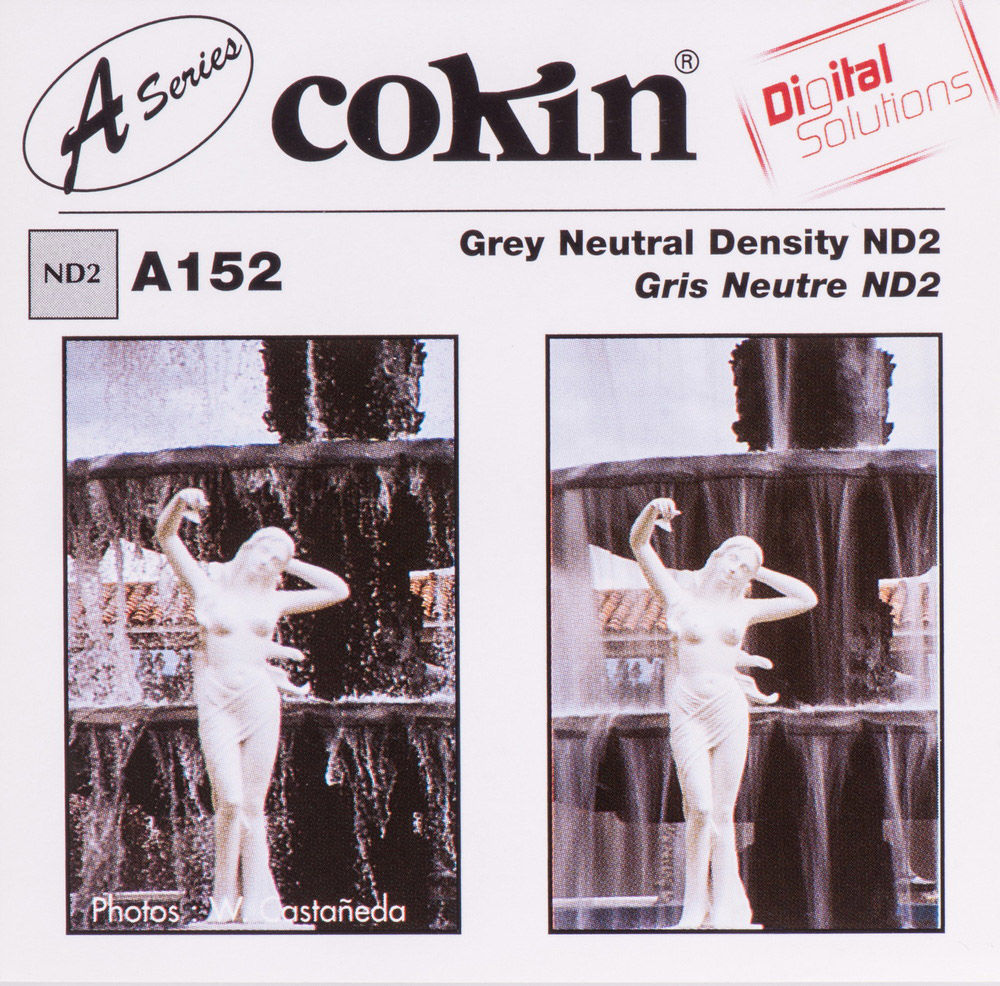 Filtr Cokin A152 rozmiar S neutralny szary ND2