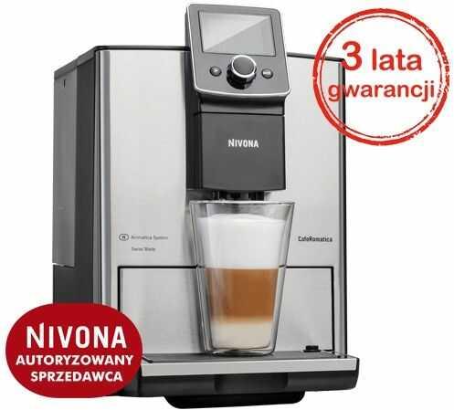 Ekspres do kawy NIVONA CafeRomatica 825 - Stal nierdzewna