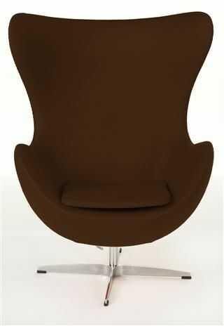 D2 Fotel Jajo brązowy kaszmir #16 Premium