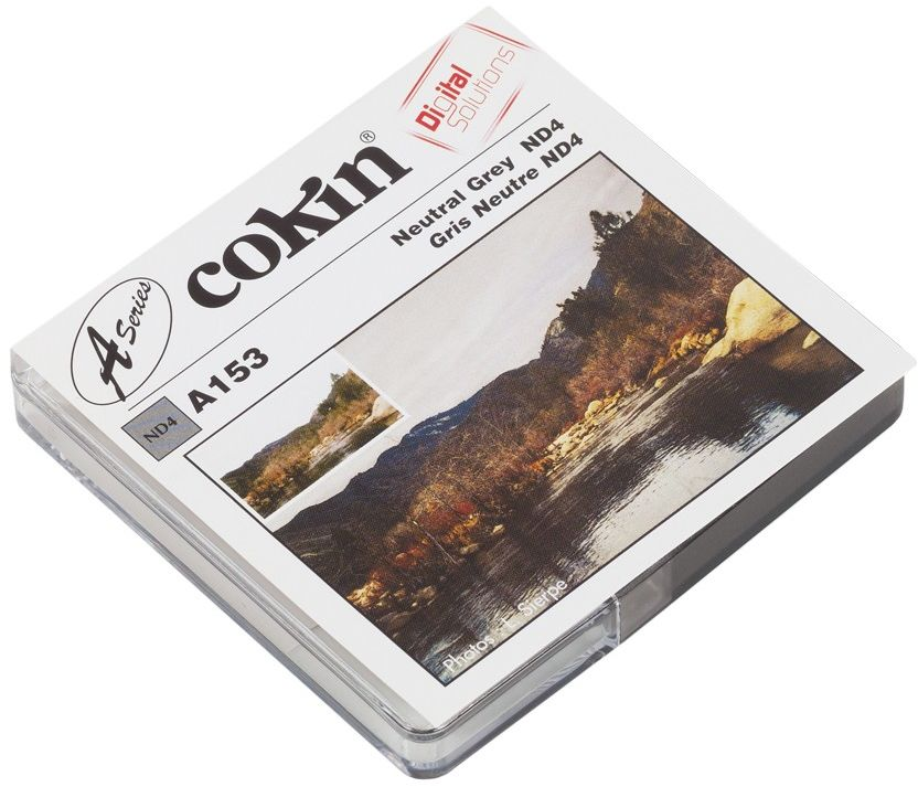 Filtr Cokin A153 rozmiar S neutralny szary ND4