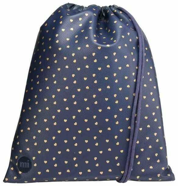 worek na plecy MI-PAC - Kit Bag Hearts Navy/Gold (004