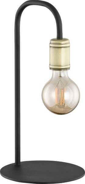 LAMPA BIURKOWA RETRO CZARNO- ZŁOTY 3023 - TK Lighting Do -17% rabatu w koszyku i darmowa dostawa od 299zł !