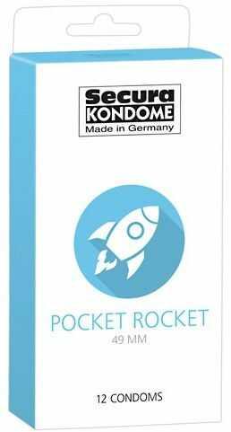 Prezerwatywy secura - pocket rocket
