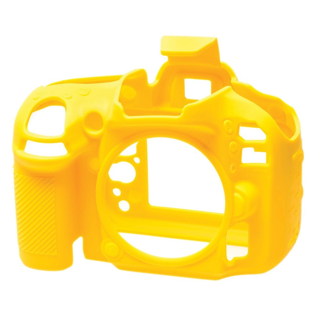 Osłona silikonowa easyCover do aparatu Nikon D600/ D610 żółta