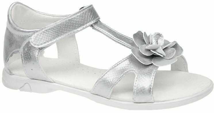 Sandałki dla dziewczynki KORNECKI 4319 Srebrne - Srebrny