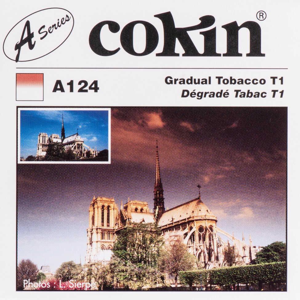 Filtr Cokin A124 rozmiar S połówkowy tabaczkowy T1
