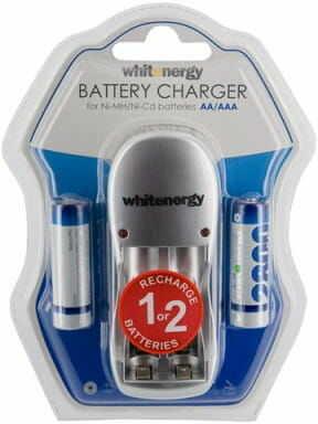 Whitenergy Ładowarka do Akumulatorów +2xAA 2800mAh Ni-Mh 08350