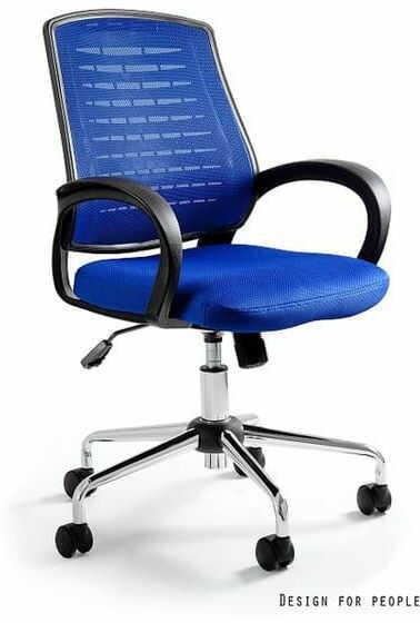 Fotel Biurowy Unique AWARD niebieski