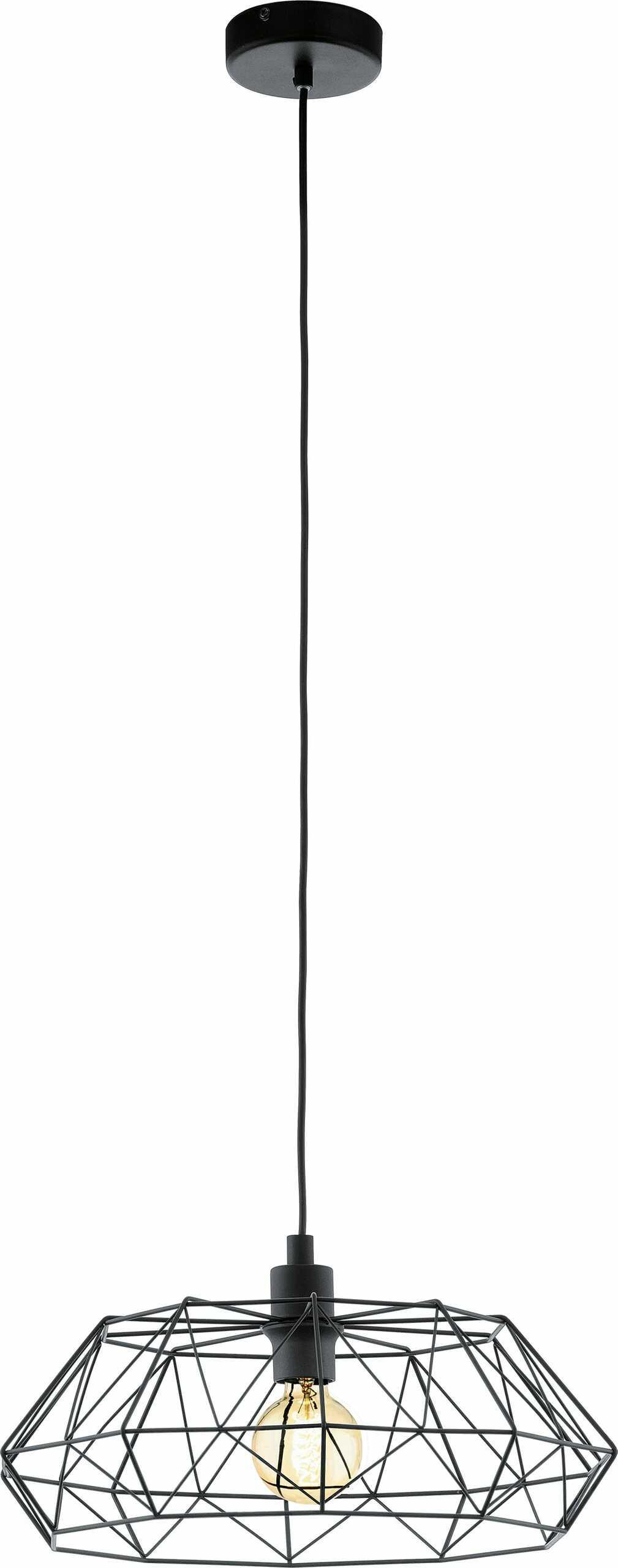 Eglo lampa wisząca Carlton 2 49487