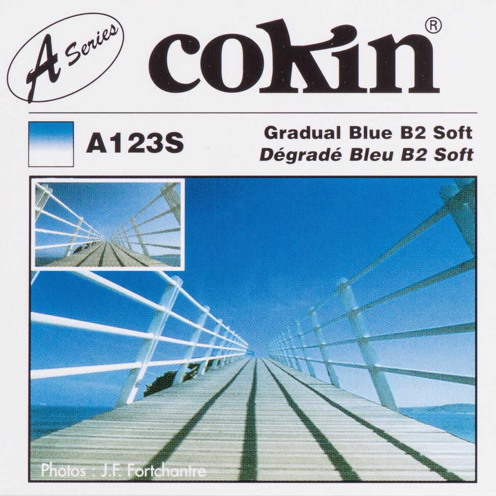 Filtr Cokin A123S rozmiar S połówkowy niebieski