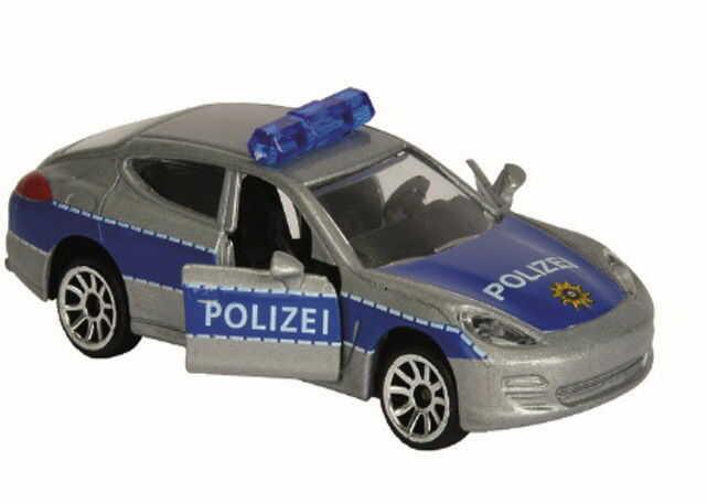 Majorette - Pojazd SOS Radiowóz Porsche Panamera 2057181