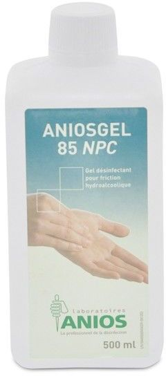 Żel do dezynfekcji dłoni i stóp aniosgel 800 500ml (uzupełnienie)