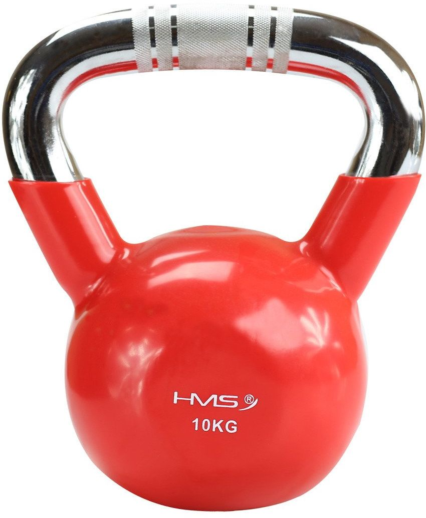 Hantla winylowa żeliwna kettlebell KTC10 10 kg - HMS