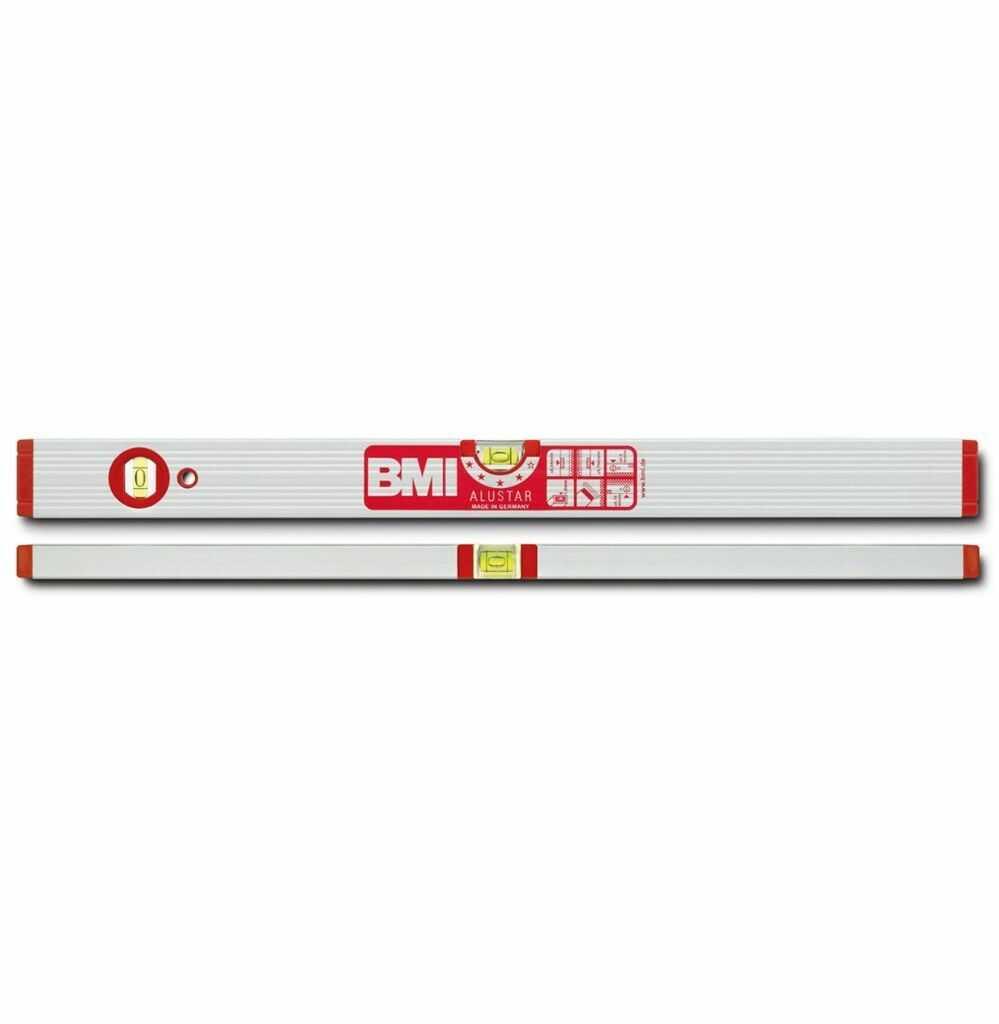 Poziomica BMI ALUSTAR 200cm, wzmacniana