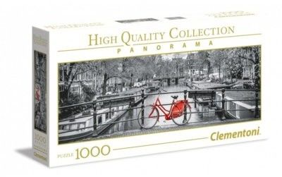 Puzzle Clementoni 1000 - Panorama - Rower w Amsterdamie, Amsterdam Bicycle