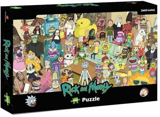 Puzzle 1000 Rick&Morty