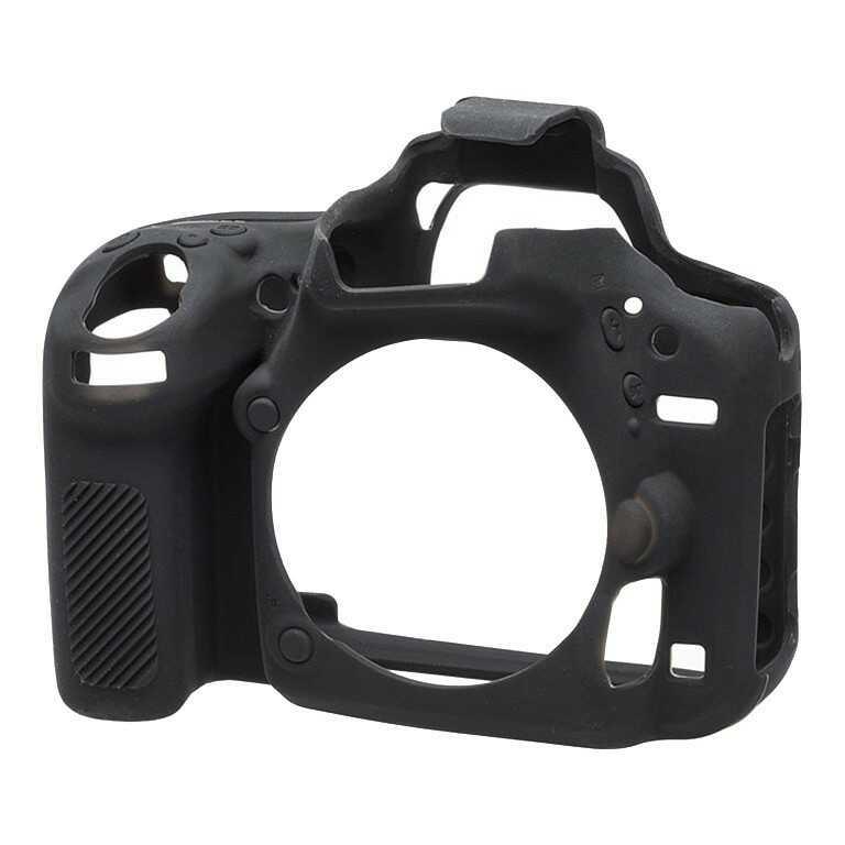 Osłona silikonowa easyCover do aparatu Nikon D750 czarna