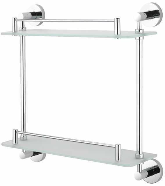 Stella Classic półka podwójna 07.842 chrom szkło matowe wysyłka 24h