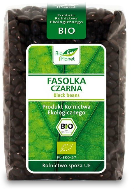 Fasolka Fasola Czarna 500g - Bio Planet - EKO
