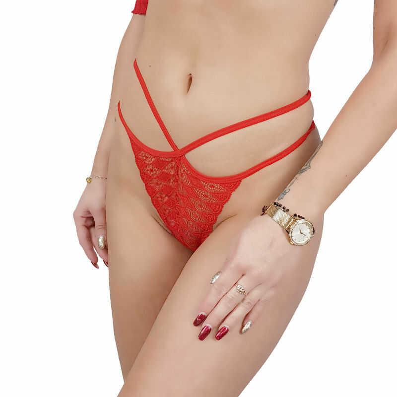 Stringi damskie seksowne koronka Beauty Senses BS001274
