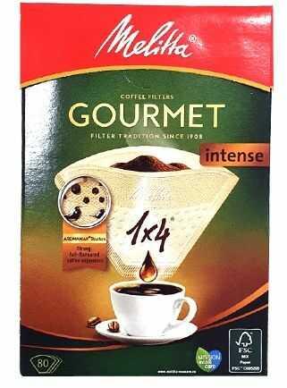 Filtry papierowe Melitta Gourment Intense 80 szt.