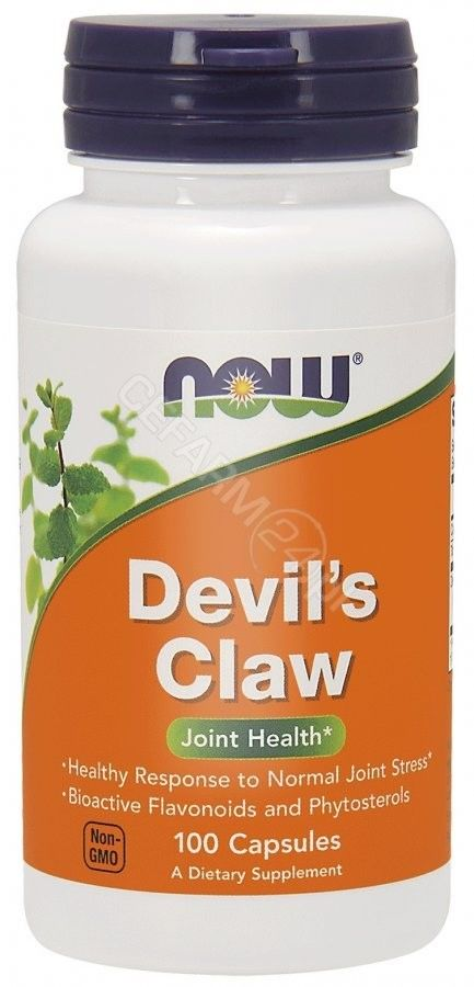 Devil''s Claw (Diabelski Pazur) 100 kaps. ekstrakt (Now Foods)