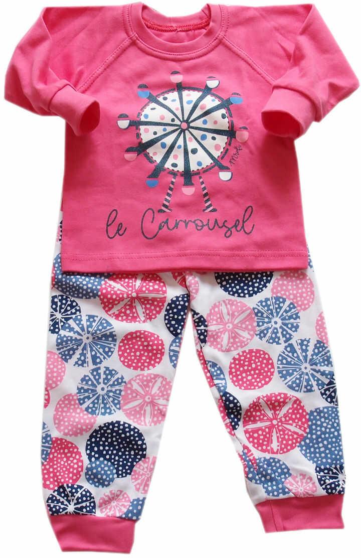 Piżama dla dziewczynki Karuzela