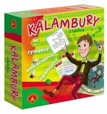 Gra Kalambury z tablicą ALEXANDER 0758