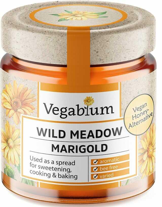 Słodzidło wegańskie z nagietkiem bio 225 g - vegablum