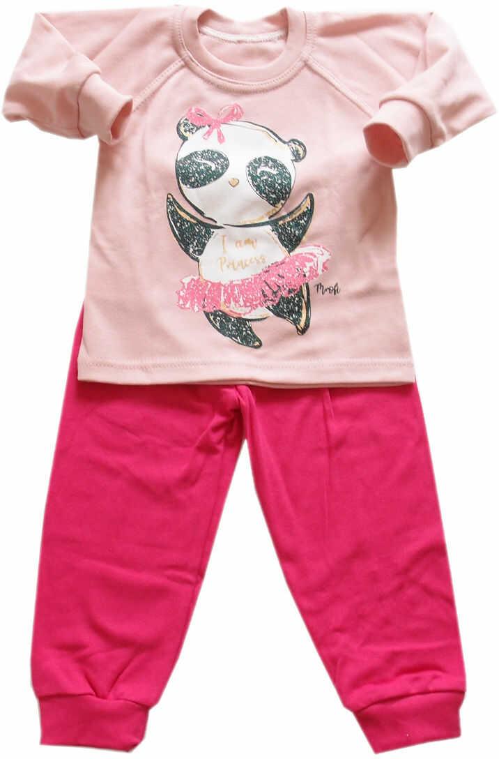 Piżama dla dziewczynki Panda