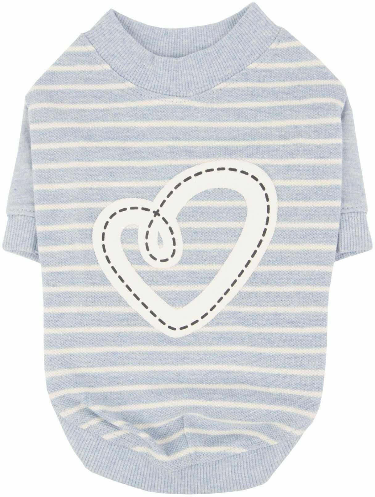 Pinkaholic New York NARA-TS7304-MB-L Ml.Blue Aviana koszulki dla zwierząt domowych, duże