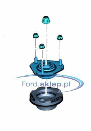 zestaw mocowanie amortyzatora poduszka + łożysko  Ford