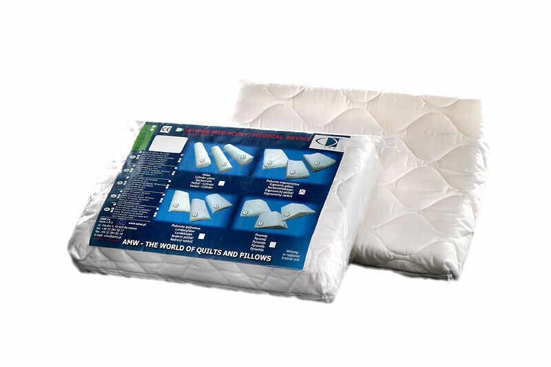 Poduszka profilowana Comfort Ergonomiczna biała AMW