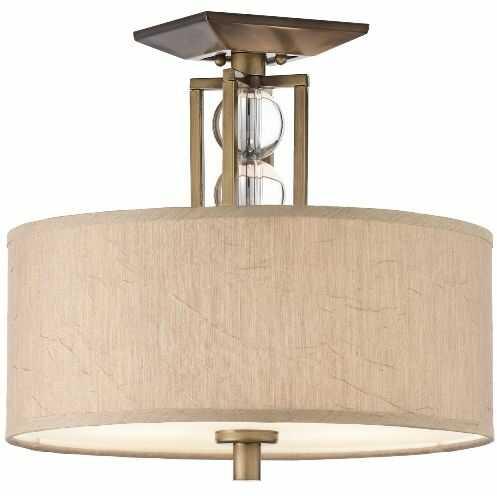 Plafon Celestial KL/CELESTIAL/SF Kichler brązowa oprawa w dekoracyjnym stylu