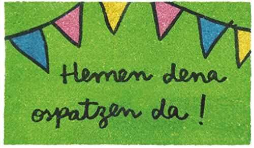 laroom 13927  wycieraczka Hemen Dena ospatzen Da., zielona