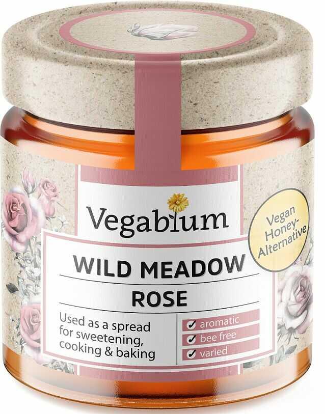 Słodzidło wegańskie z różą bio 225 g - vegablum