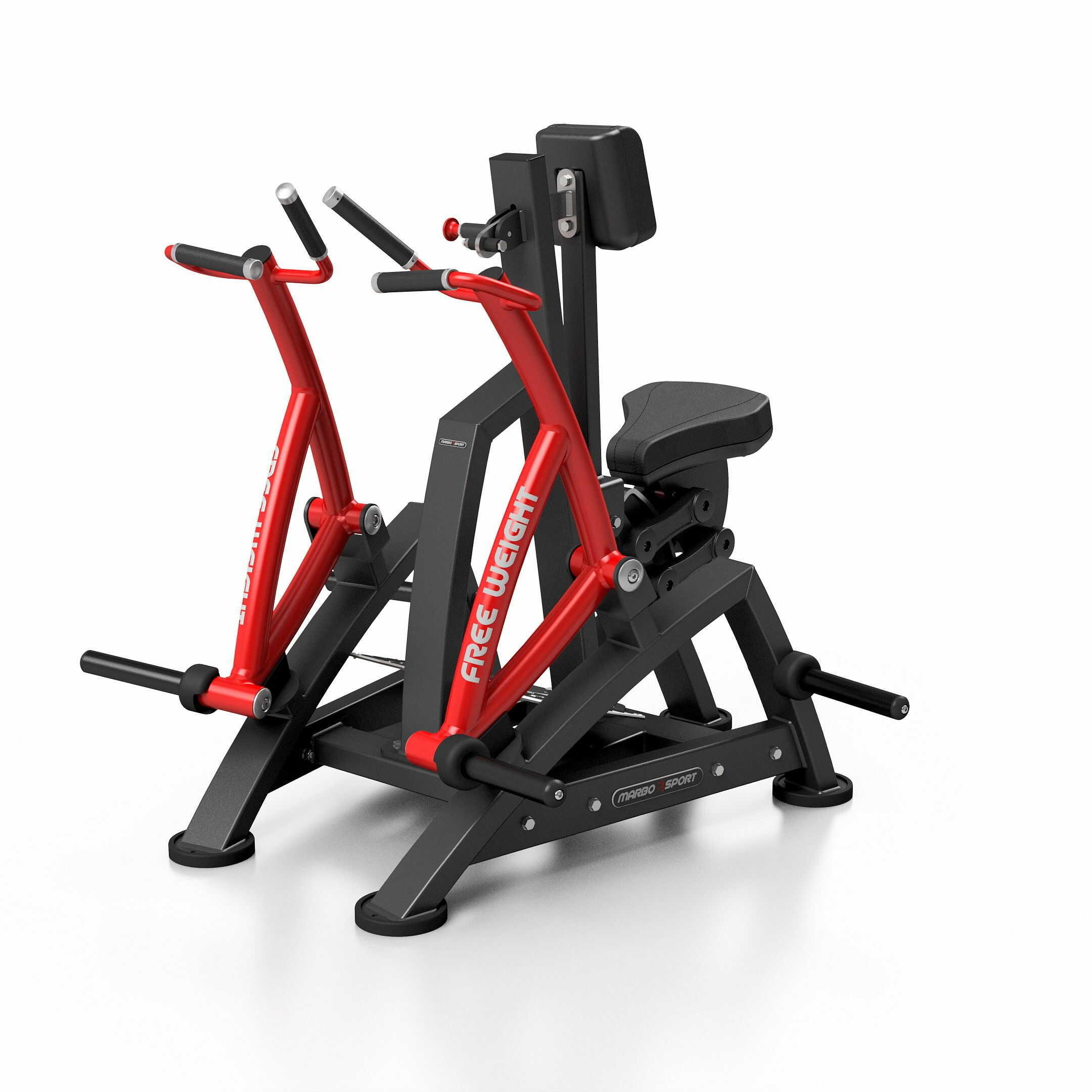 Maszyna na wolny ciężar na mięśnie pleców MF-U017 MARBO