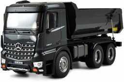 Amewi 22504 Mercedes ciężarówka Kipper PRO metal V2 pojazd licencyjny zdalnie sterowany RTR 2,4 GHz dodatkowy akumulator szary