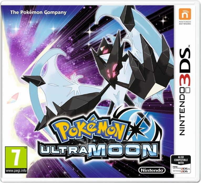 Gra Pokémon Ultra Moon (Nintendo 3DS)
