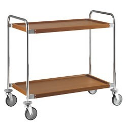 Wózek kelnerski 2-półkowy 1090x590x(H)960mm