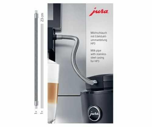 Przewód mleka z osłoną ze stali nierdzewnej JURA HP3