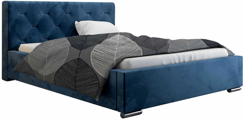 Małżeńskie łóżko ze schowkiem 200x200 Abello 3X - 48 kolorów