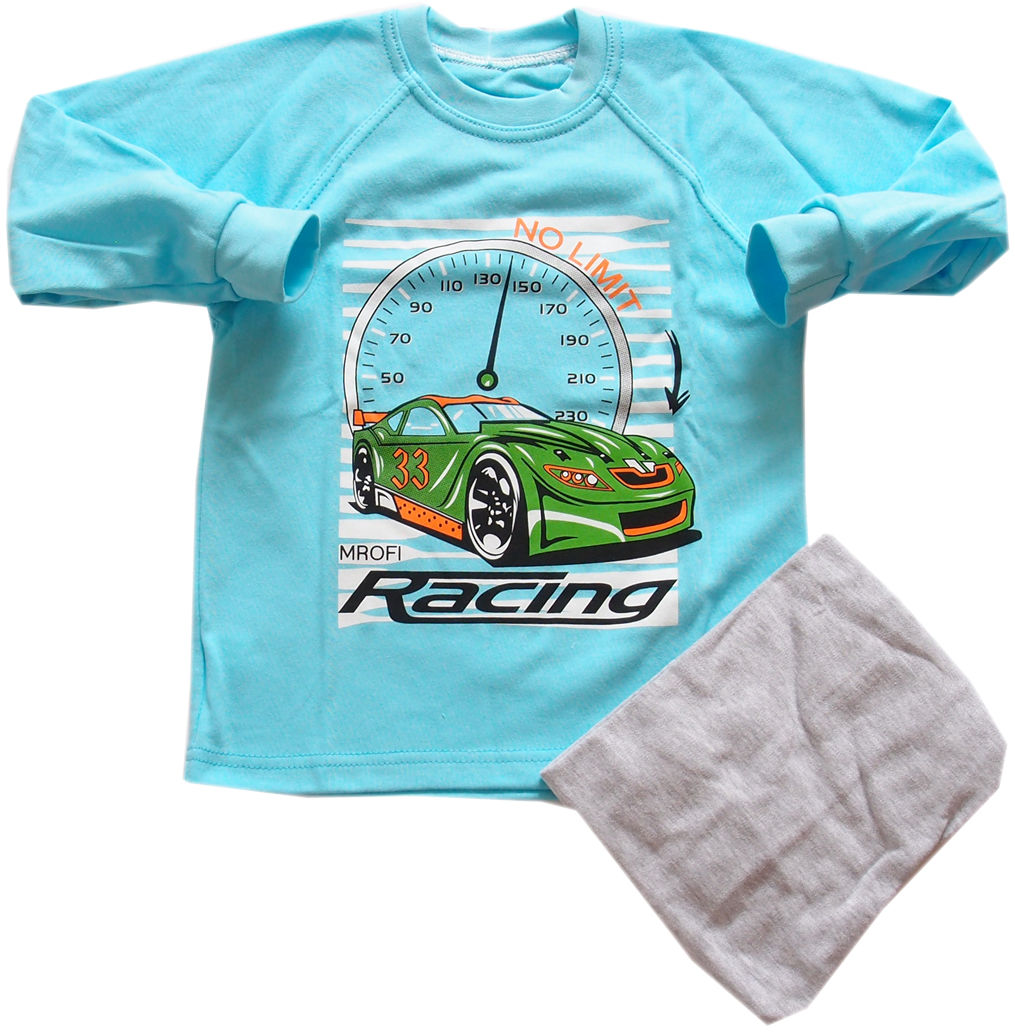 Piżama dziecięca Wyścigówa