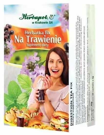 Herbata Trawienie fix 20*2g HERBAPOL KRAKÓW
