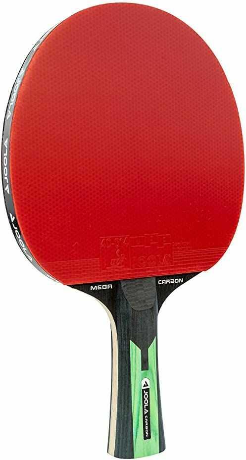 JOOLA TT Mega Carbon ITTF rakietka do tenisa stołowego dla zaawansowanych graczy technologia -Carbowood, gąbka 2,0 mm