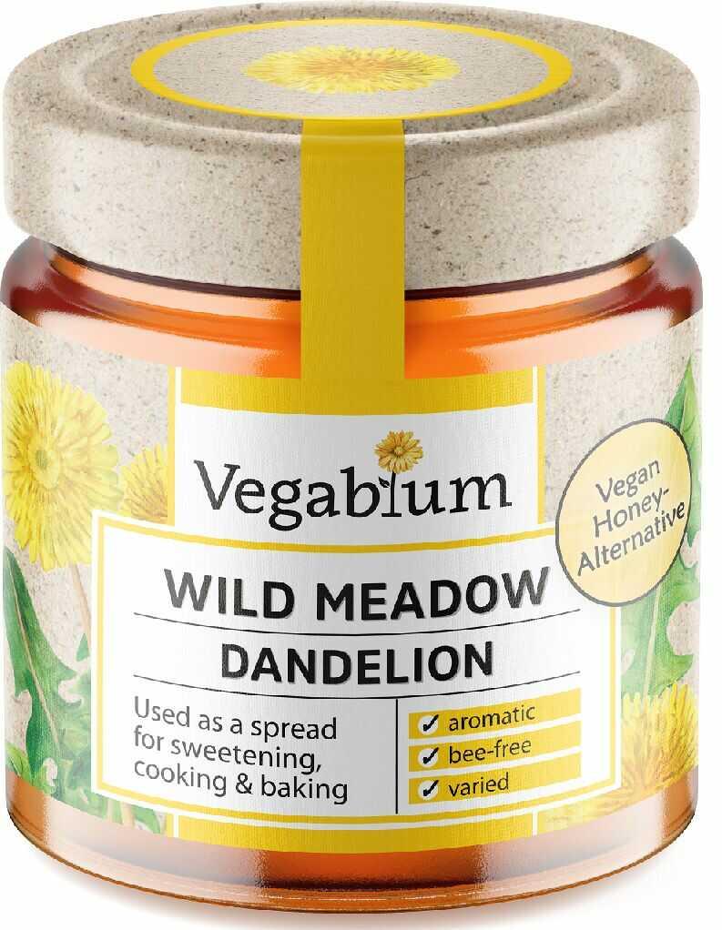 Słodzidło wegańskie z mniszkiem bio 225 g - vegablum