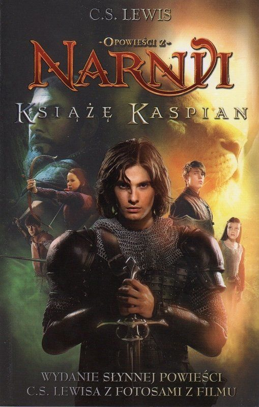 Opowieści z Narnii. Książę Kaspian - C.S. Lewis - oprawa miękka