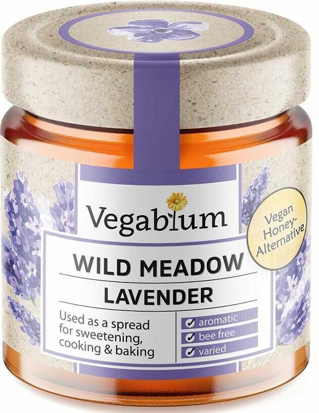 Słodzidło wegańskie z lawendą bio 225 g - vegablum