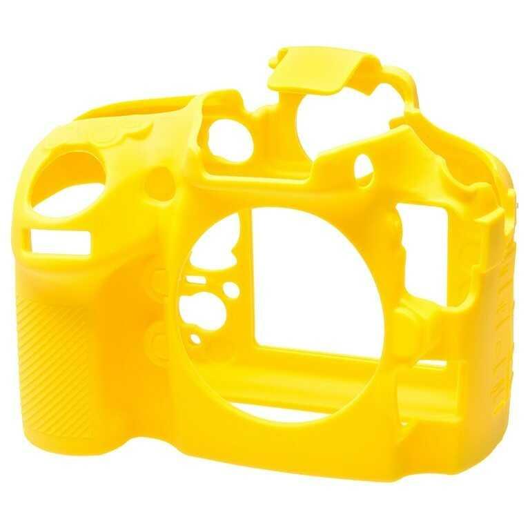 Osłona silikonowa easyCover do aparatu Nikon D800/ D800E żółta