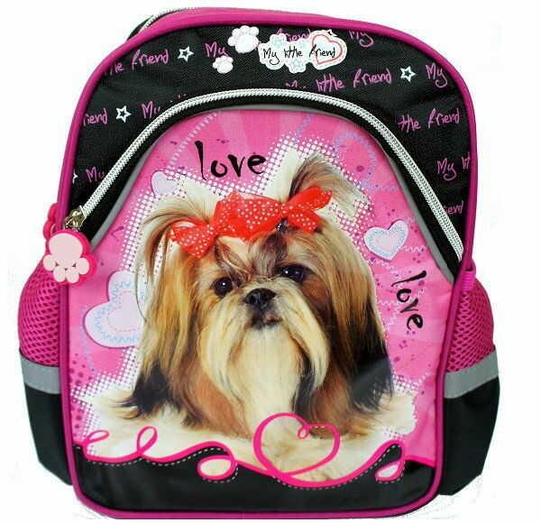St.Majewski - Plecak szkolno-wycieczkowy My Little Friends pies Shih Tzu 241147